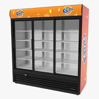 fanta door display refrigerator 3ds