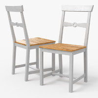 3d model gamleby ikea dining chair