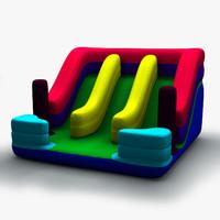 inflatable slide c4d