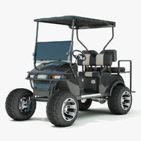 3ds max golf cart ezgo txt