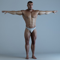 Bodybuilder Man v2 ext