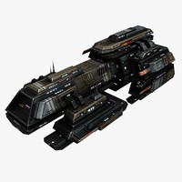 max spaceship frigate ship