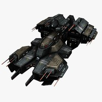 Spaceship Frigate 2
