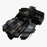 Spaceship Frigate 3