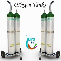 max oxygen supply cart