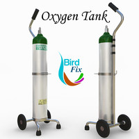 oxygen supply cart 3ds