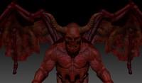 fbx devil zbrush