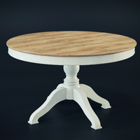 3d house dining table