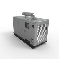 3d model of generator