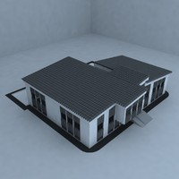 3d model of child school