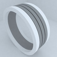 3ds max engagement wedding ring