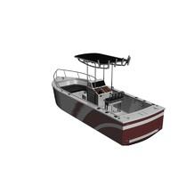 patrol boat 3d obj
