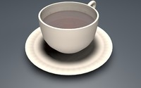 cinema4d tea cup