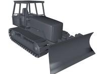 bulldozer 3d model