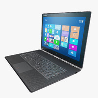 3d model of lenovo yoga 3 pro