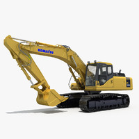 max excavator komatsu pc300