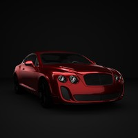 obj bentley supersport