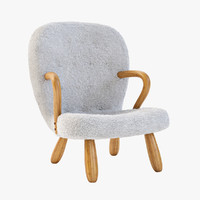 philip arctander chair 3d 3ds