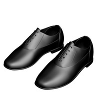 shoes male 3d max