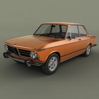 3d model bmw 2002