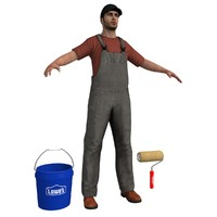 max paint worker man