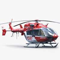 Eurocopter EC 145 Rescue Red (2)