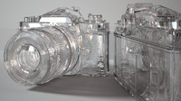 nikon iray diamond 3d model