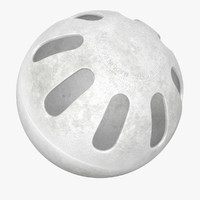 wiffle ball 3d dxf