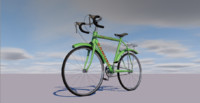 cinema4d bicycle