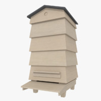 3ds bee apiary