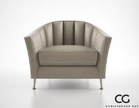 Christopher Guy Alexandrine armchair