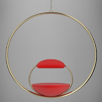lee broom hoop chair 3d model