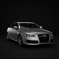 3d car audi rs6