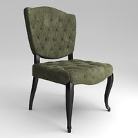 3ds max db000360 chair dialma brown