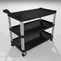 3d model cart utility