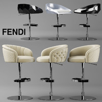 bar chair fendi max