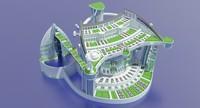 max city futuristic