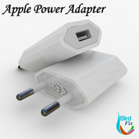 apple 5w usb power 3d 3ds