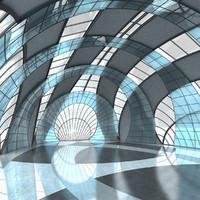 Futuristic Interior 017