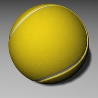 3dsmax ball tennisball tennis