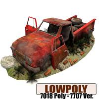 pickup games ready 3d model