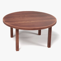 3dsmax wooden table