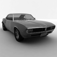 3d classic american muscle