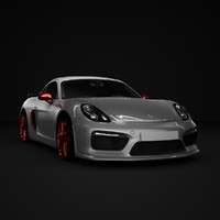 car cayman gt4 981 3d max
