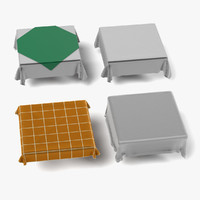square tableclothes 3d 3ds