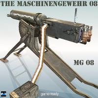 maya maschinengewehr 08 mg