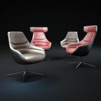 3dsmax kyo-lounge-chair