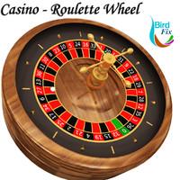 casino - roulette wheel 3d model