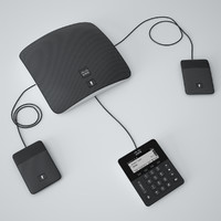 cisco ip conference phone 3d model