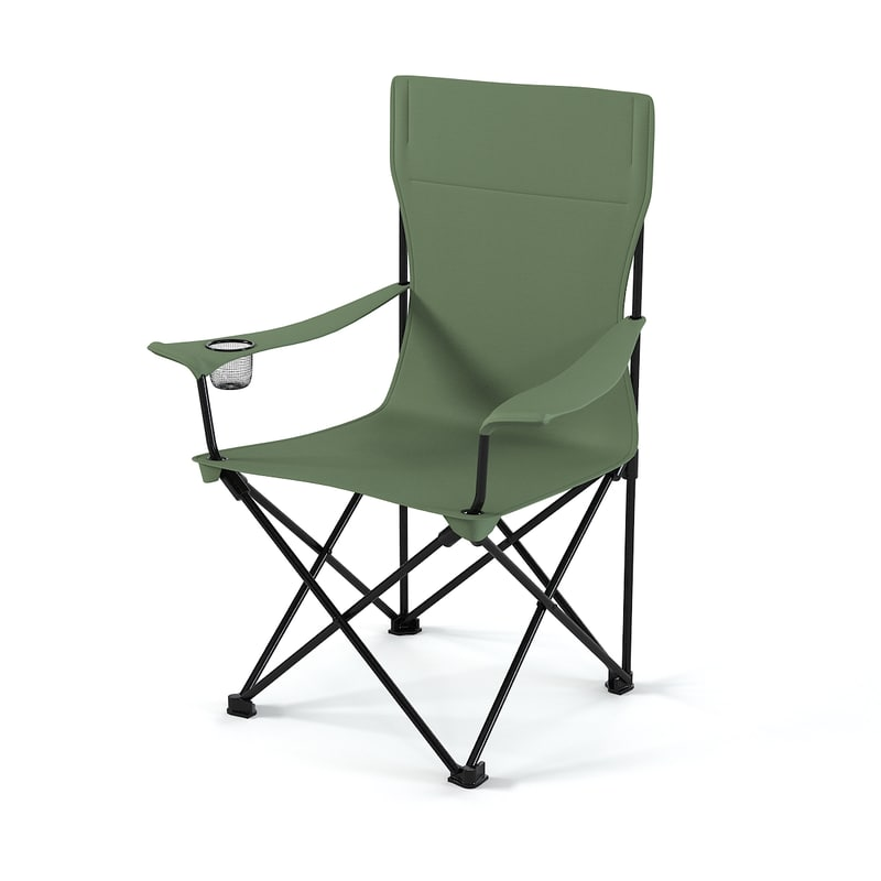 Coleman Standart Quad CHair touristic  traveller camping seating famous folding 0001.jpg